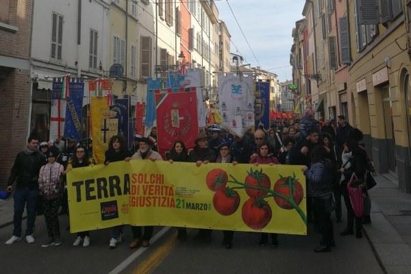 Marcia vittime mafia a Parma 3
