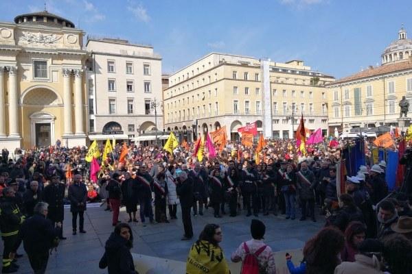 Marcia vittime mafia a Parma 5
