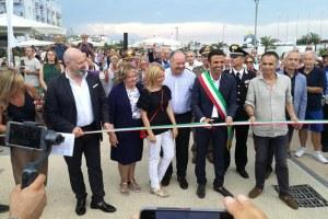 Lungomare Milano Marittima taglio nastro (luglio 2018)