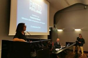 Patto Lavoro Infrastrutture ministra De Micheli (settembre 2019)