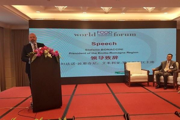 Missione Cina 20 novembre 2017 World food forum