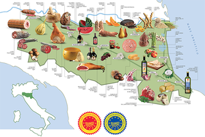 Settimana della cucina italiana_canada_cartina_novembre 2018