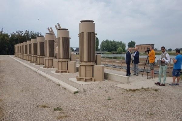 Inaugurazione impianto di Mondine (Mn)