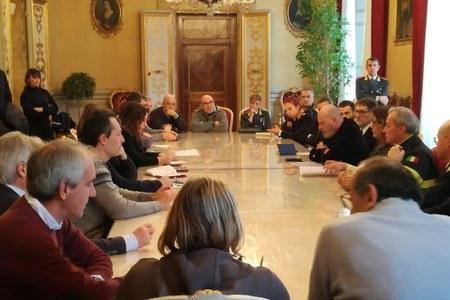 Vertice in Prefettura 3 febbraio 2019 per alluvione Castel Maggiore