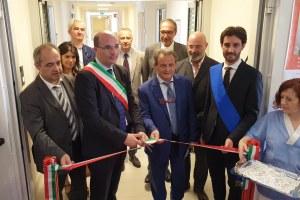Bonaccini inaugurazione nuova ortopedia Arcispedale Reggio Emilia 5 luglio 2019