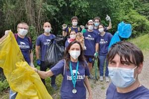 Priolo partecipa a Un Po prima del mare Plastic Free onlus (maggio 2021)