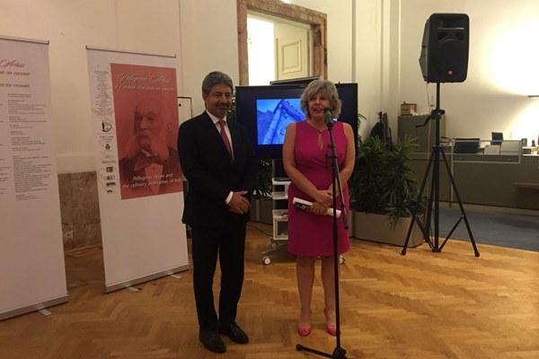 Assessore Caselli e ambasciatore Fratini a Vienna Osce