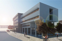 Rendering Ospedale Di Fiorenzuola