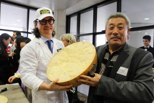Parmigiano_Delegazione Cinese