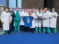 Personale sanitario dell'Ospedale Maggiore di Parma