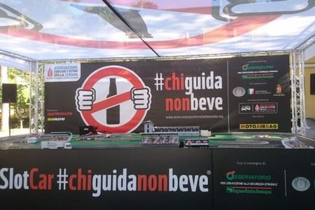 Sicurezza stradale #chiguidanonbeve  pista logo (Bologna 22 settembre 2018)