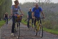 Po, escursioni in bici
