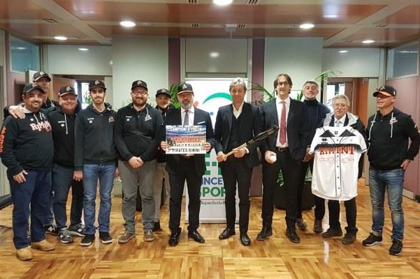 Premiazione Baseball Rimini 2