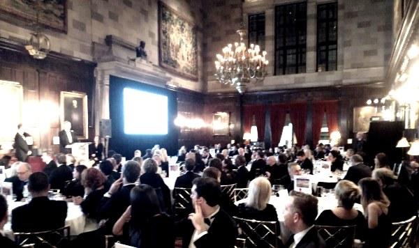 Premiazione Bonaccini a new York