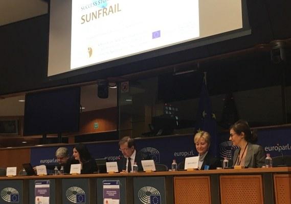 Presentazione al Parlamento europeo del progetto Sunfrail - 2017