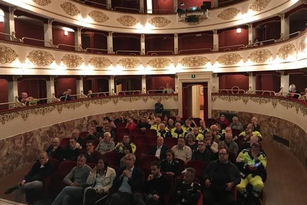 Assessore Gazzolo convegno opere nodo idraulico Bologna Pieve di Cento ottobre 2019 - 2