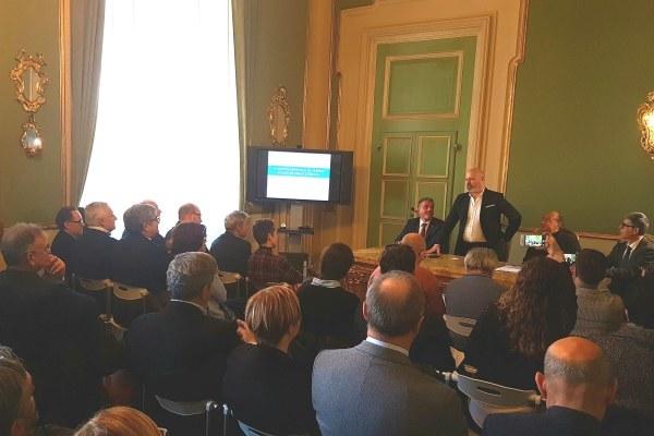 presentazione nuovo ospedale Bufalini Cesena 23 gennaio 2018 Bonaccini Venturi