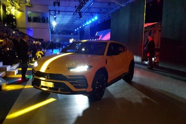 Presentazione suv Lamborghini_4 dicembre 2017