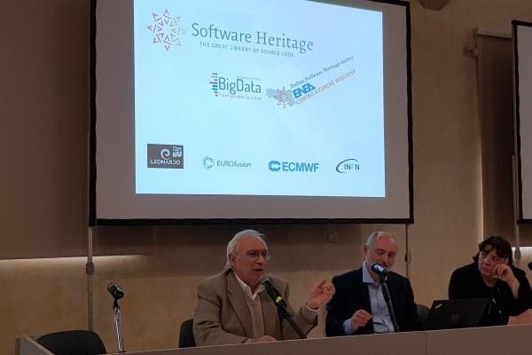 Softwere Heritage - presentazione ass. Bianchi - 24/10/2019