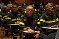 Grazie ai soccorritori esplosione Borgo Panigale 6 agosto Vigili del fuoco (4 settembre 2018)