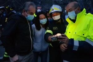 Sopralluogo assessora Irene Priolo crollo ponte Lenzino sul Trebbia piacentino 3 ottobre 2020 -5