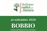 Mettiamo radici per il futuro - Convegno a Bobbio 26 settembre 2020 - logo