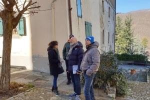 Appennino modenese: Bonaccini a Riolunato, febbraio 2020