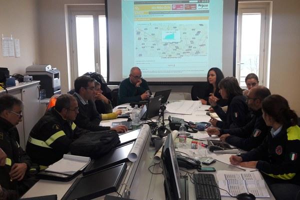 Riunione operativa Cup di Marzaglia (Mo) - 12 dicembre 2017