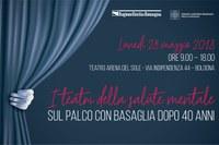 Locandina I teatri della salute mentale (maggio 2018)
