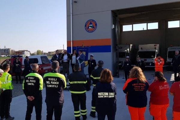Inaugurazione magazzino protezione civile San Felice  Panaro, 24 marzo 2019/1