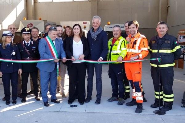 Inaugurazione magazzino protezione civile San Felice  Panaro, 24 marzo 2019/2
