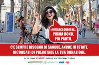 Donazione sangue campagna estate 2019