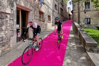 Giro d'Italia 2019, pista rosa, San Marino