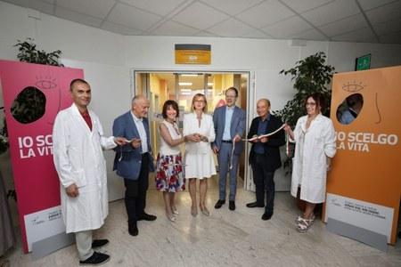 Inaugurazione Centro Riferimento trapianti regionale bis 6 luglio 2018