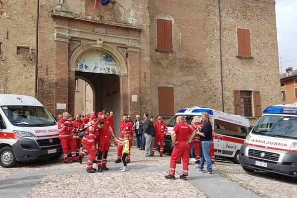 Nuova sede Croce Rossa Italiana a Scandiano (maggio 2018) Palazzo