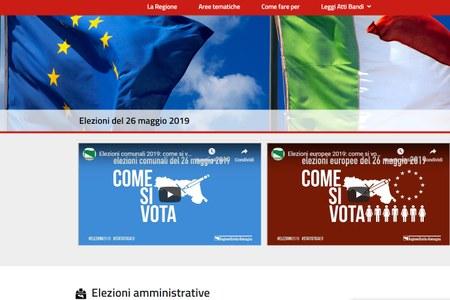 Elezioni - Sito 2019