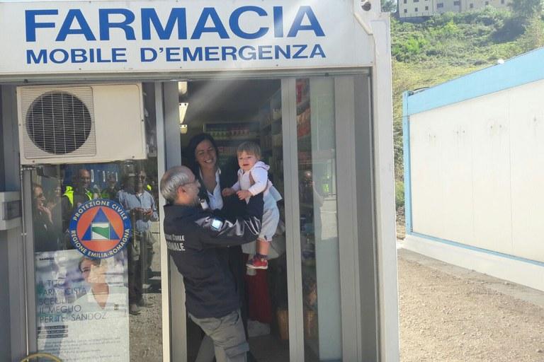 Sisma in Italia centrale, assessore Gazzolo inaugura cittadella a Montegallo (AP)