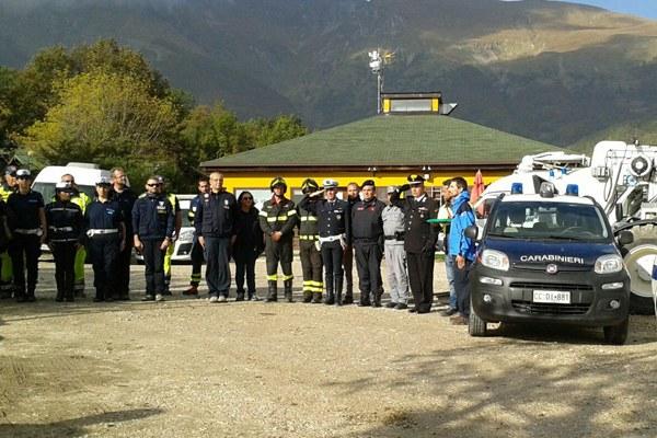 Sisma in Italia centrale, chiudono campi tenda a Montegallo (16 ottobre 2016)