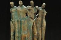 Sisma scultura vittime Medolla 1