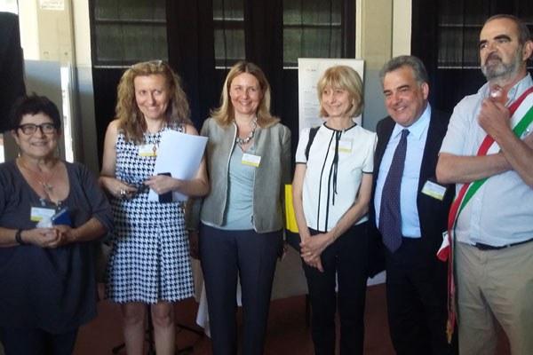 Smart grid, visita a Mercato Saraceno (Fc) assessore Costi (14/7/16) 2