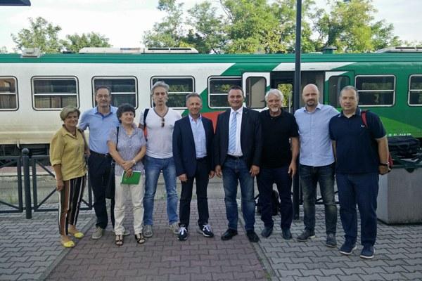 Sopralluogo assessore Donini sulla Reggio-Ciano