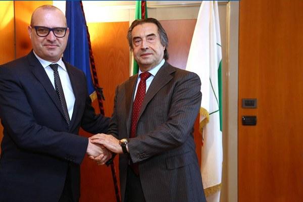 Stefano Bonaccini e Riccardo Muti