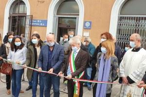 Giunta a Bologna 28 settembre 2020, inaugurazione piazzale stazione San Giovanni in Persiceto