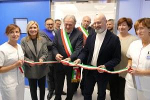 Inaugurazione sale operatorie ospedale Pavullo con Bonaccini, 30/11/2019