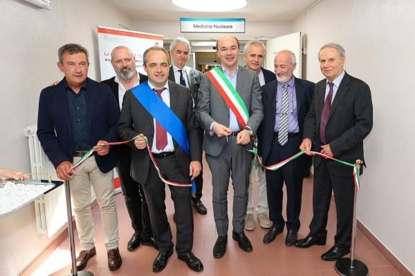Inaugurazione nuova Pet Tac ospedale Santa Maria Nuova Reggio Emilia 16 giugno 2018