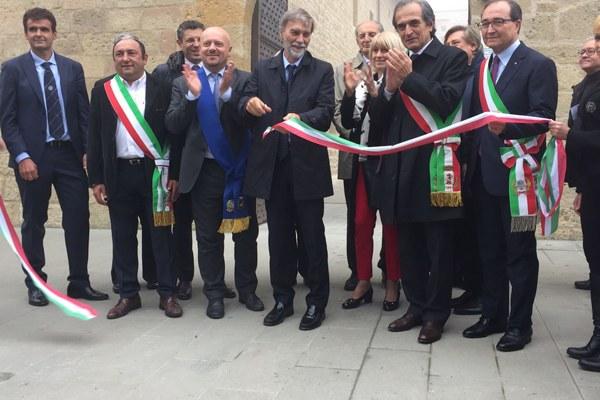 Taglio nastro tecnopolo Rocca della Caminate (FC) - 14 ottobre 2016