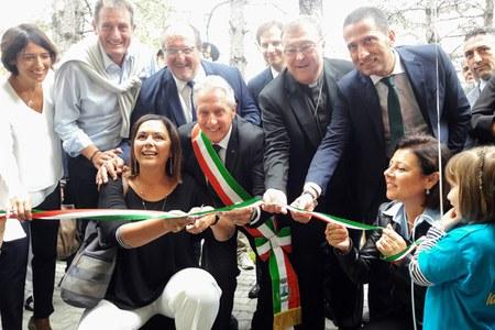 Taglio nastro scuola Crognaleto (Te) Gazzolo settembre 2018