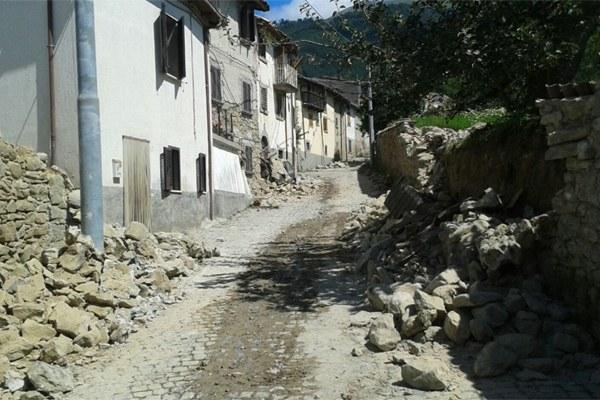 Terremoto Centro Italia agosto 2016 - 6 Sant'Angelo di Amatrice