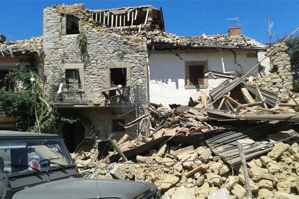 Terremoto Centro Italia agosto 2016 - 7 Sant'Angelo di Amatrice