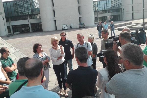 Vertenza Alstom - Palma Costi ((settembre 2016)